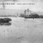 Crue de la Seine - Routes et plaines du Bas Cléon