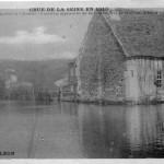 Crue de la Seine : Maximum enregistré le 2 février 1910 : 8 mètres, dépassant de 60 centimètres la crue du 21 mars 1876.