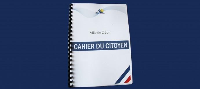 cahier du citoyen ACTU SITE