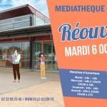 Réouverture Médiathèque ACTU