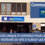 communiqué CHI - visites extérieures